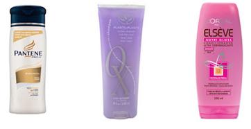 Procure por shampoos que possuem o pH moderado