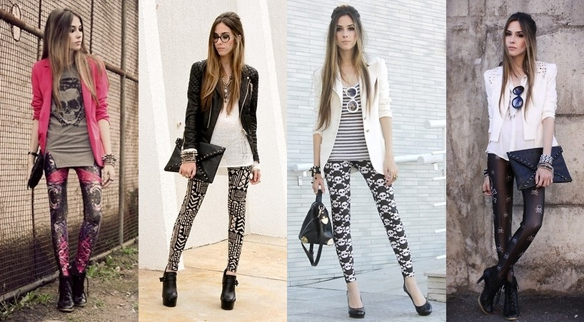 leggings estampada