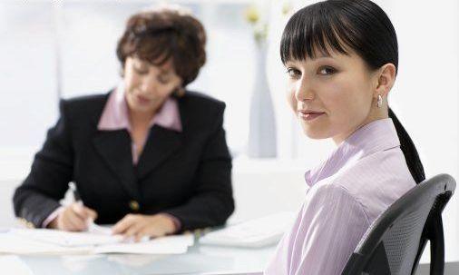 comportamento em uma entrevista de emprego