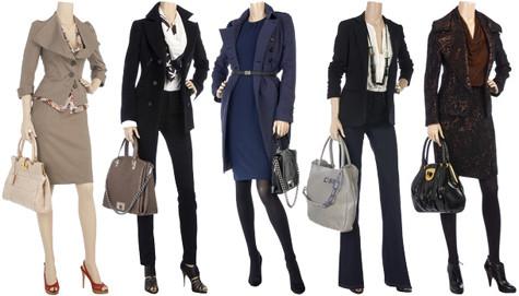 Roupas femininas para uma entrevista de emprego