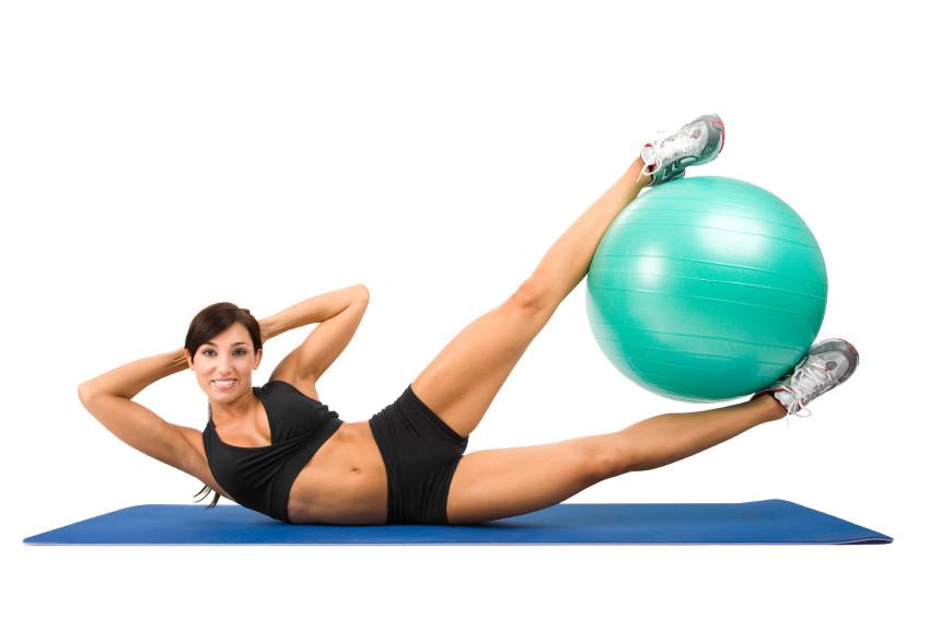 Exercício de Pilates para acabar com Inchaço
