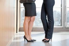 sapatos para entrevista de emprego