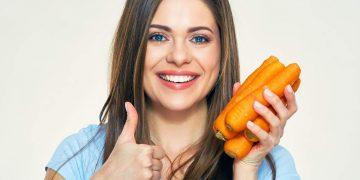 Hidratação capilar caseira com cenoura
