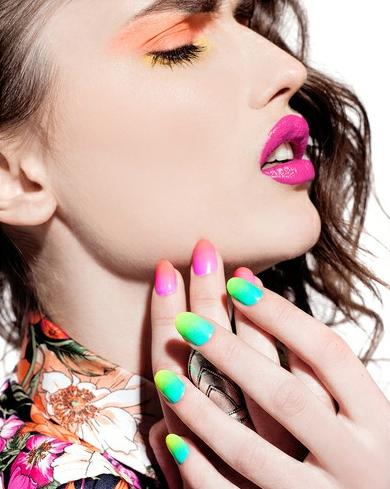 Foto ilustrativa para capa do artigo sobre unhas sombreadas