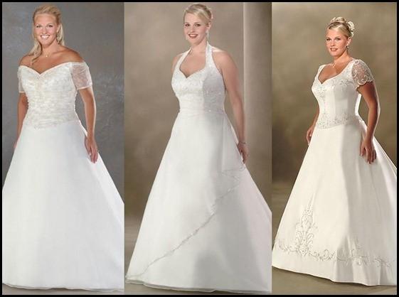 Vestido de noiva para gordinha