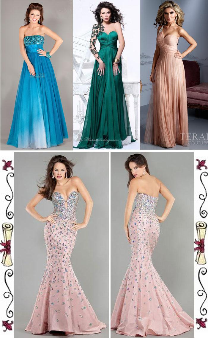Vestido longo e bonitos