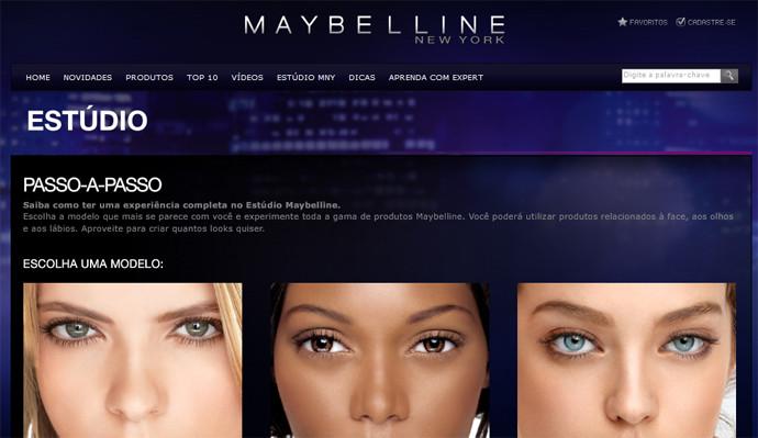 simulador de maquiagem maybelline