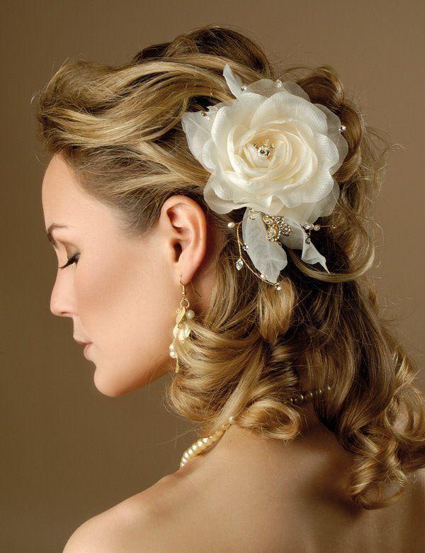 penteados para formaturas e casamentos