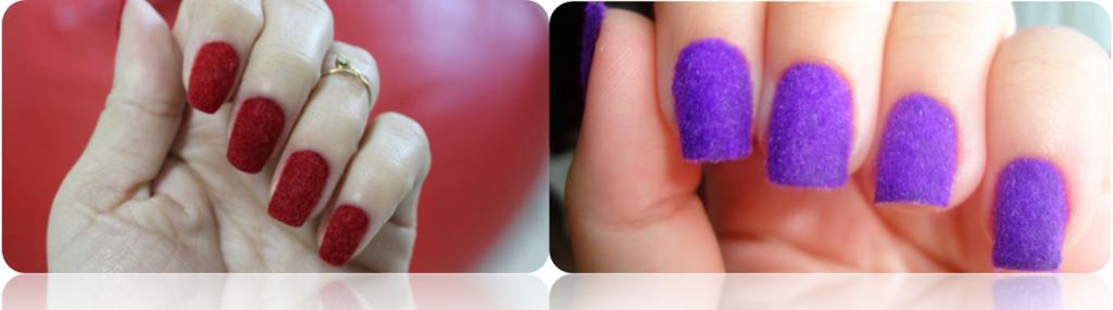 descubra como fazer unhas de veludo