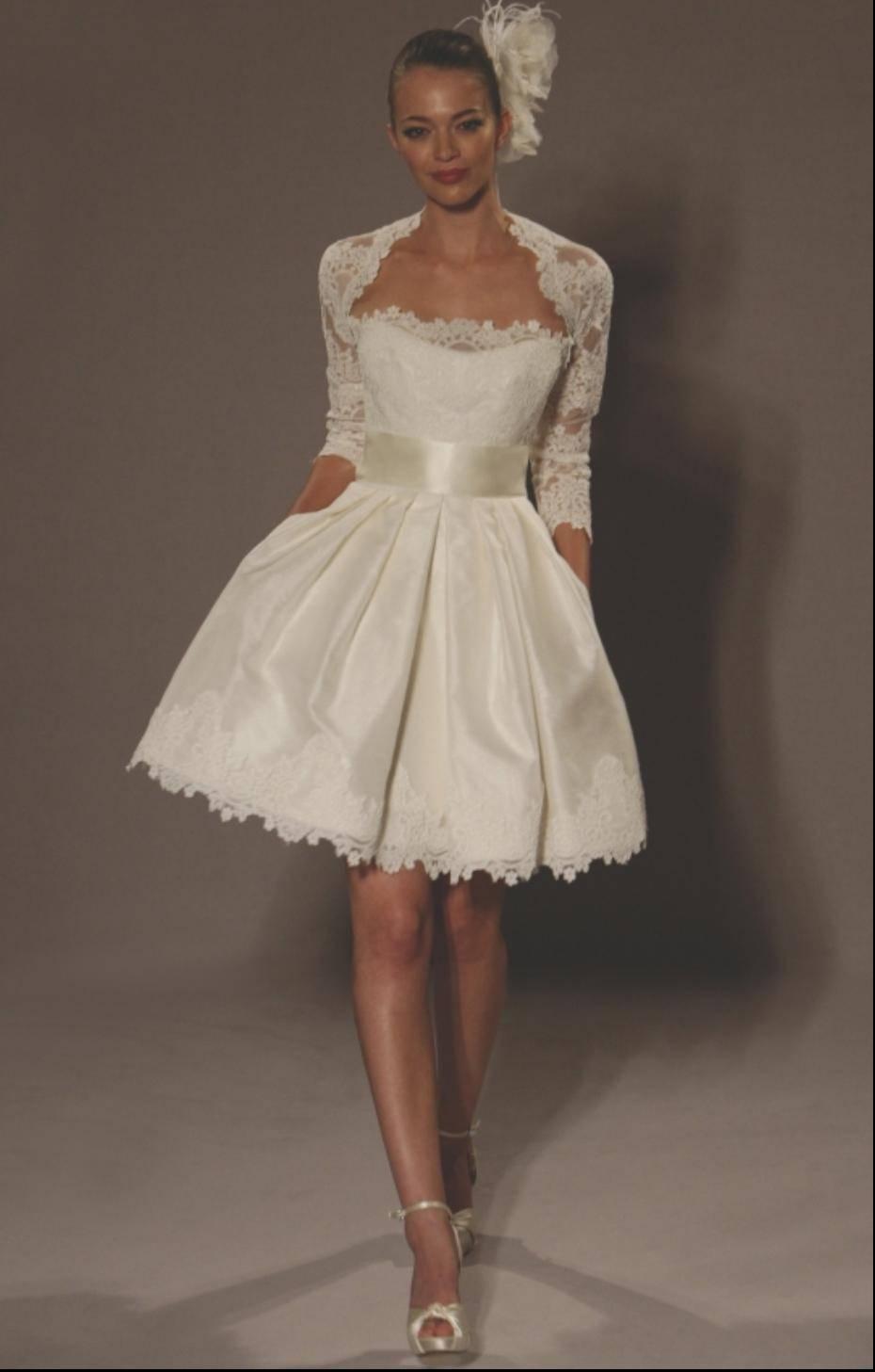 Vestidos de noiva curtos fotos para inspirar site de for Short wedding dresses uk only