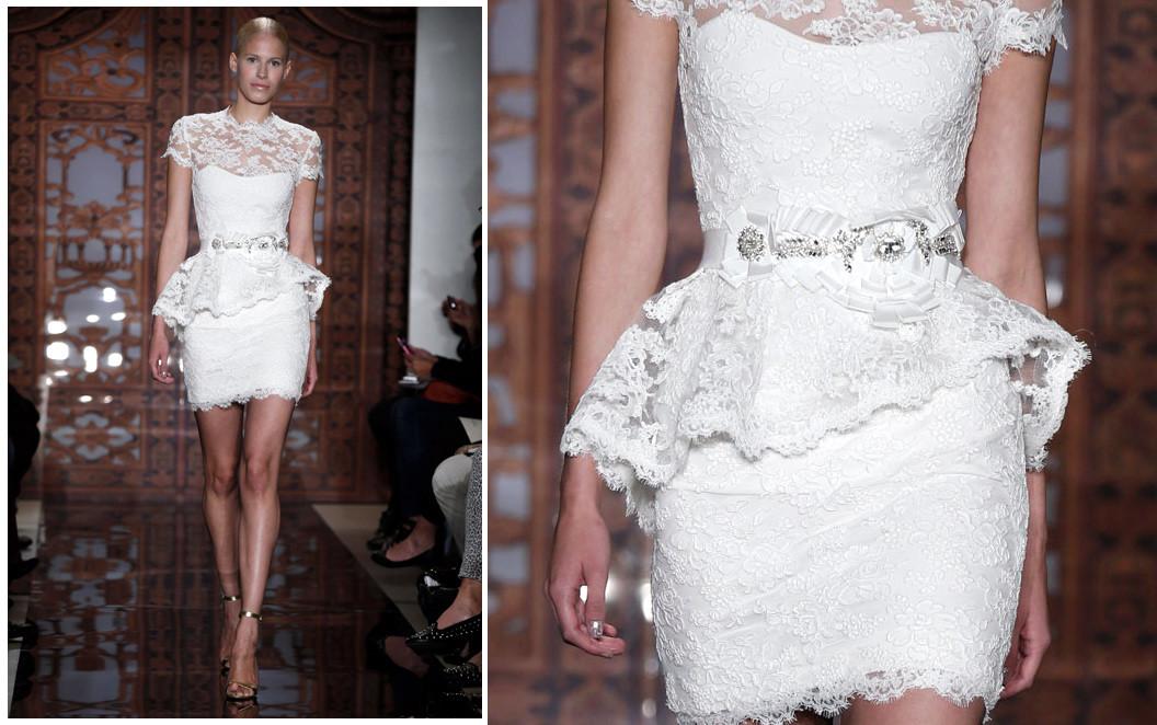 Vestidos de noiva curtos fotos para inspirar site de beleza e