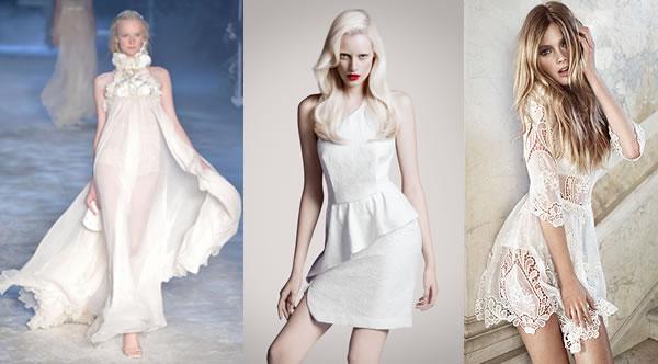 branco total - roupas transparentes dá um ar romântico.