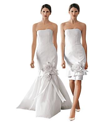 vestidos de noiva curtos e ousados