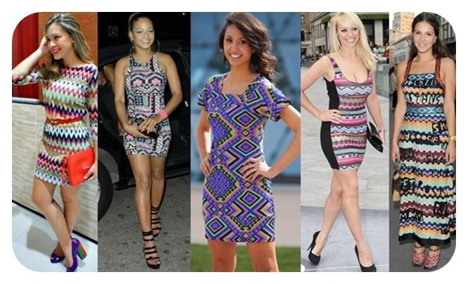 foto de lindos vestidos etnicos