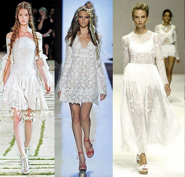 fotos de vestidos para festas usando a moda do branco total
