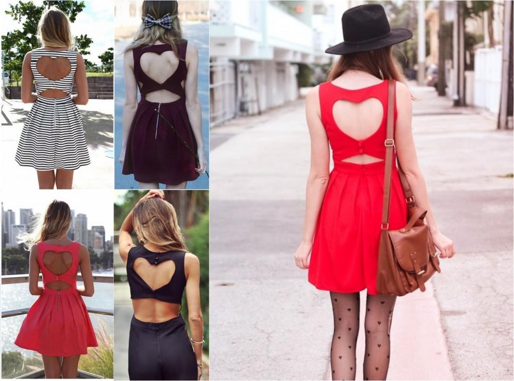 roupas com recortes de coração