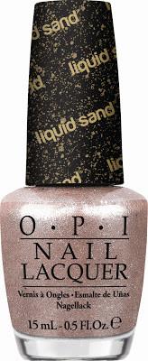 OPI esmalte tom rosa texturizado cheio de brilho