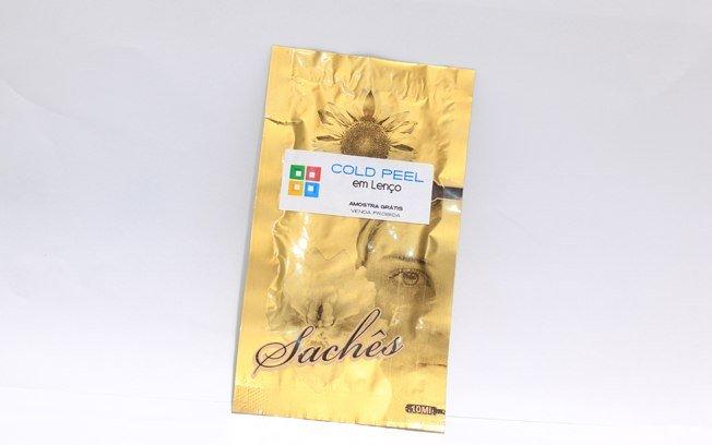 sachês de peeling