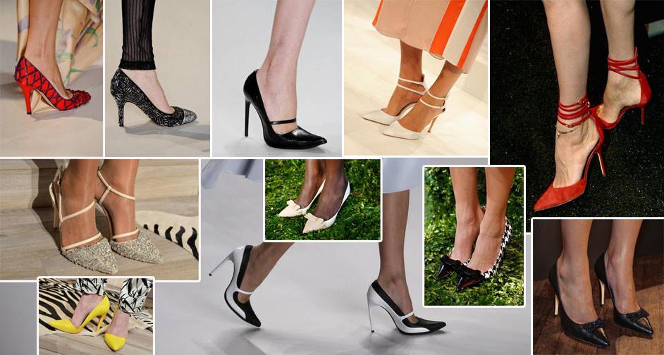 scarpin está dentro das tendências de sapatos para 2014