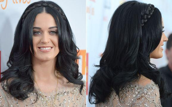 penteado para formatura igual ao de Katy Perry