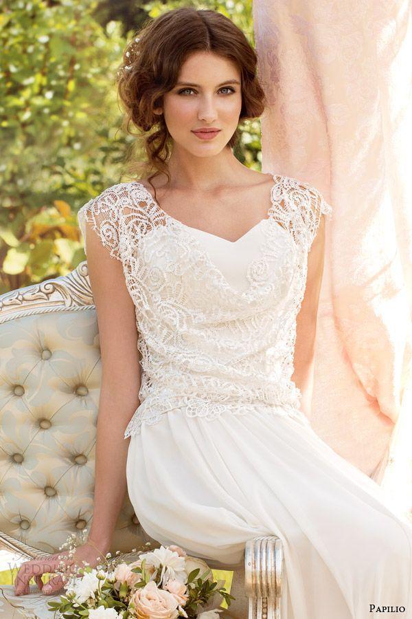 foto de vestido feito com Renda Guipure