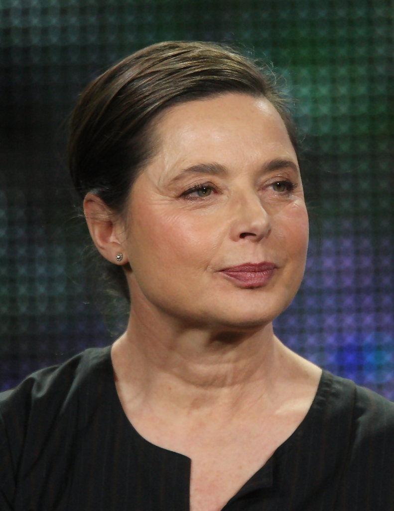 Isabella Rossellini não gosta de cirurgia plástica