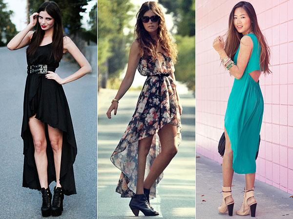 vestidos assimetricos