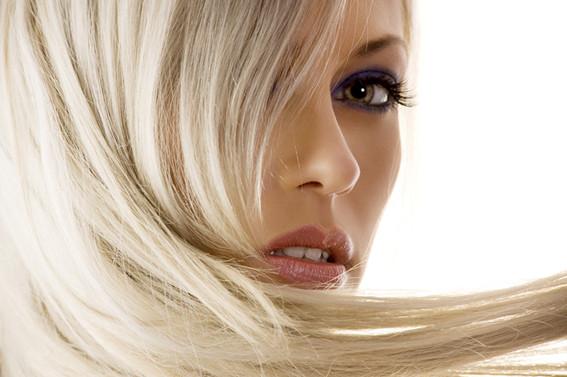 cabelos loiros perfeitos