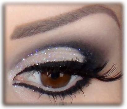 Maquiagem Passo a Passo Preta Maquiagem Preta Com Glitter