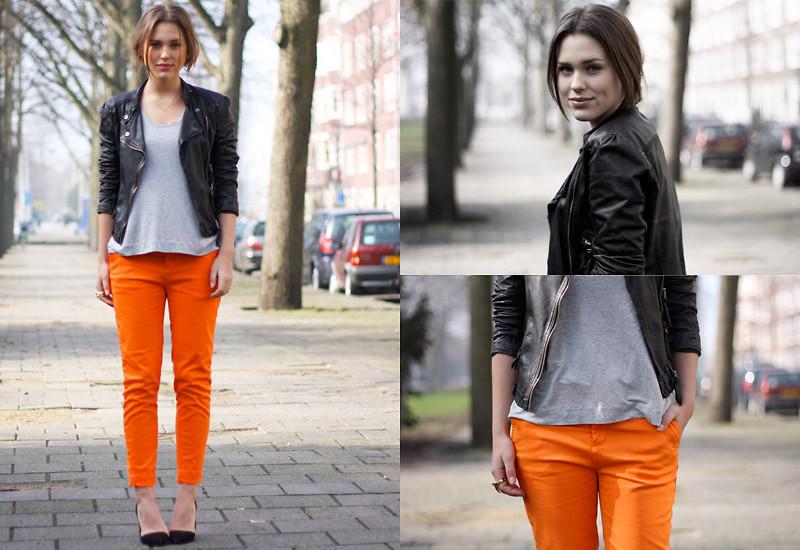 tendência laranja