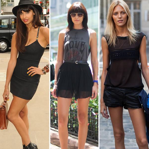 posso usar roupa preta no verão