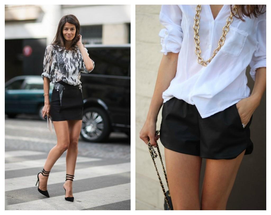 roupa preta no verão