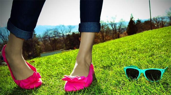 cuidados com os calçados