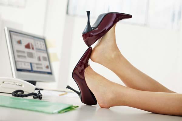 calçado ideal para trabalhar