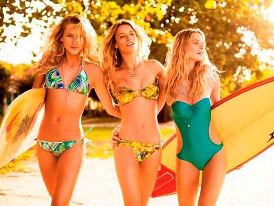 foto da moda praia verão 2014