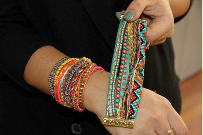 pulseiras da moda