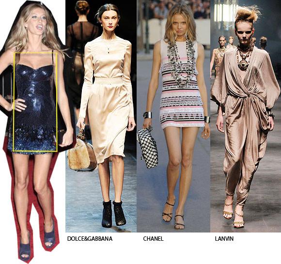 opções de roupa de balada para corpo retângulo