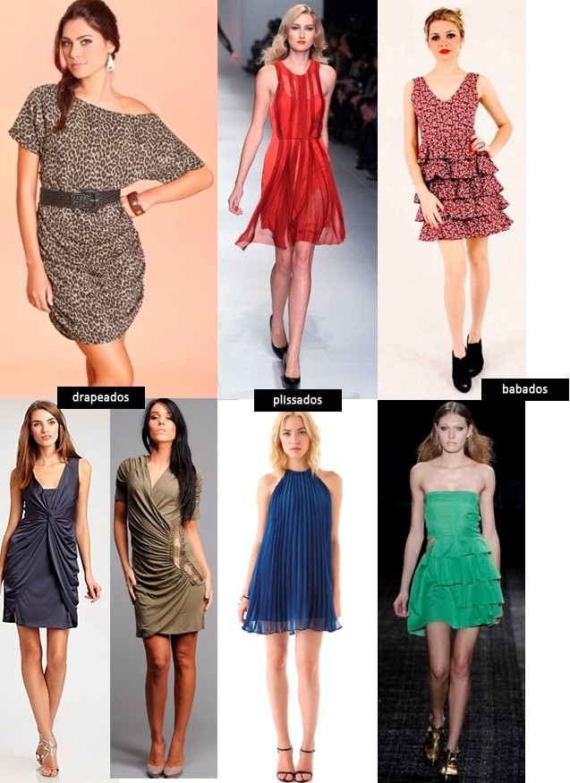 vestidos para magras