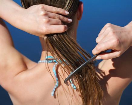 dicas caseiras para proteger os cabelos no verão