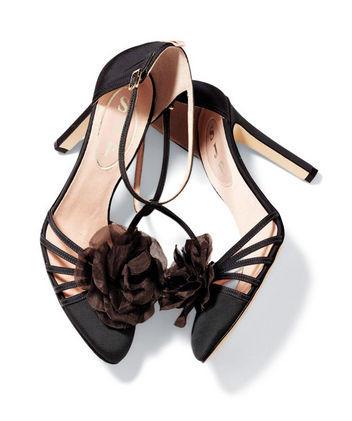 sandália da coleção Sarah Jessica Parker