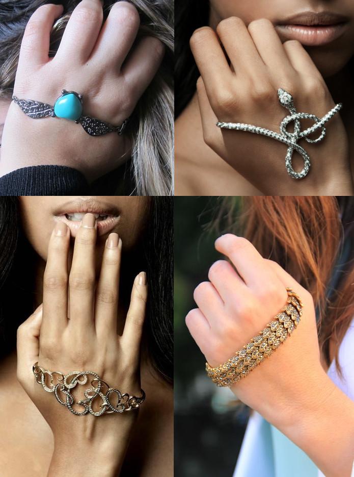 modelos de bracelete de mão para inspirar