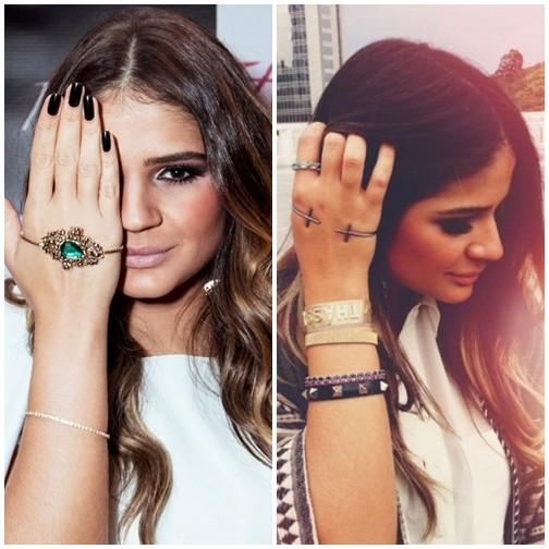 bracelete de mão