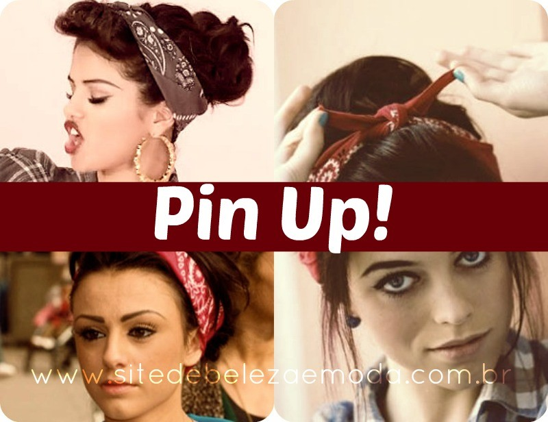 Amarração de lenço Pin Up