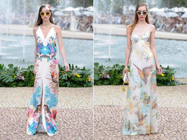 Tendências de vestidos da moda verão 2014