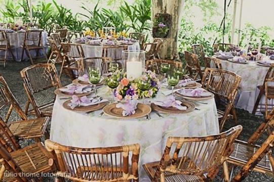dicas para decoração de casamento no campo