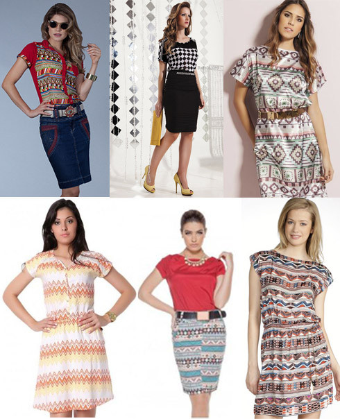 estampa étnica presente na moda gospel 2014
