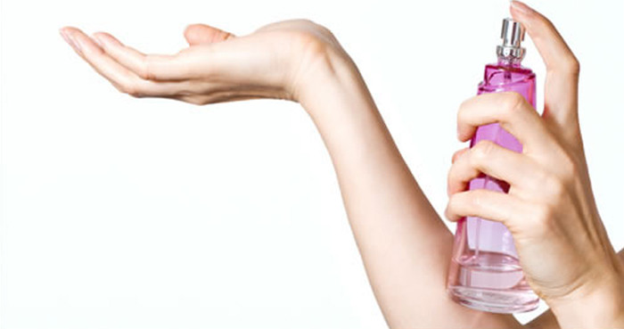melhores partes para aplicar perfume