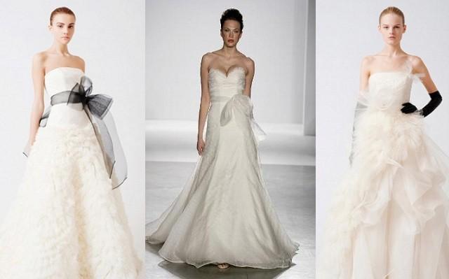 vestido de noiva tomara que caia com laço