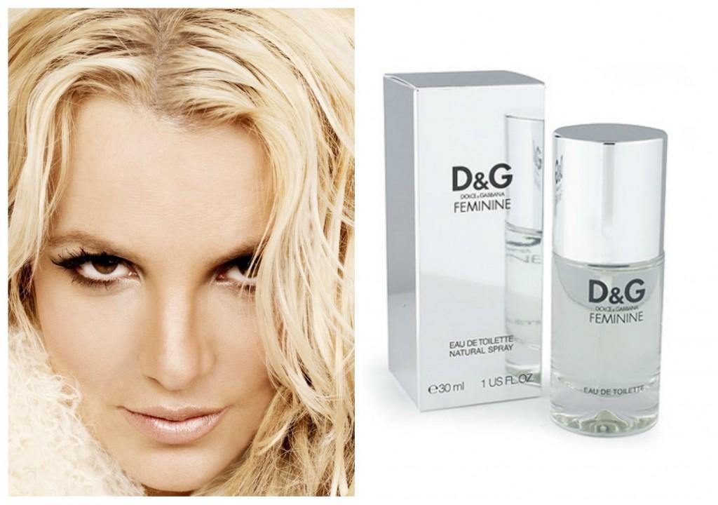 perfume predileto da Britney Spears