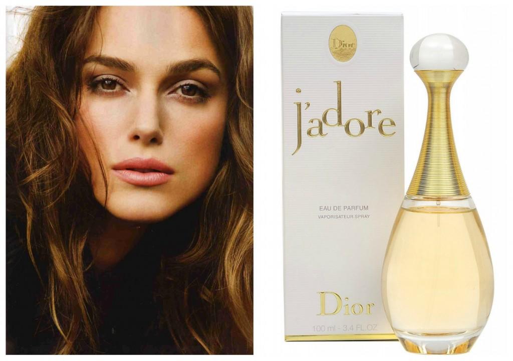 perfume predileto da Keira Knightley